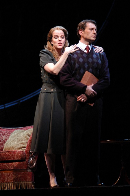 Brett Polegato in End of the Affair with Mary Mills at Seattle Opera